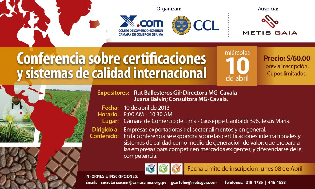 Conferencia Certificaciones