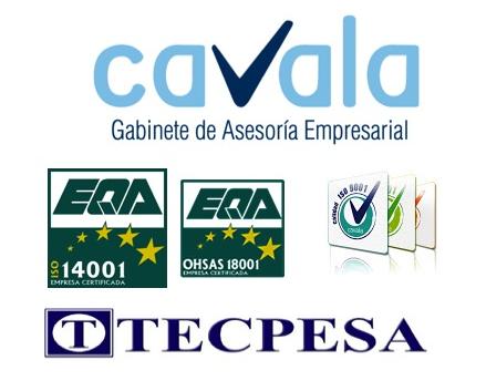 TECPESA de la mano de CAVALA amplía el alcance de su Sistema de Gestión de Calidad, e incorpora las normas ISO 14001 y OHSAS 18001
