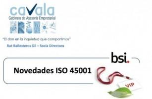 Novedades ISO