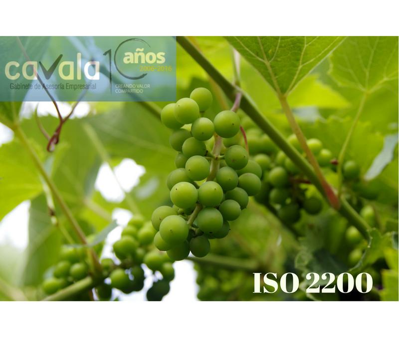 ISO 22000 YA DISPONIBLE EL BORRADOR