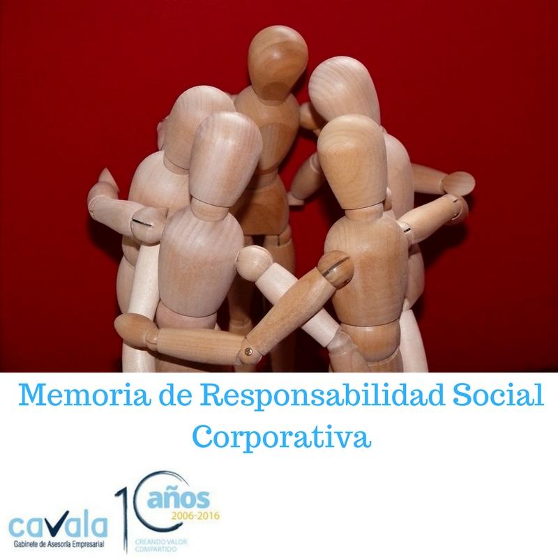MEMORIA DE RESPONSABILIDAD CORPORATIVA