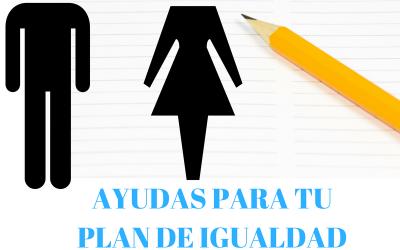 Ayudas para realizar tu Plan de igualdad.