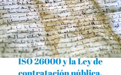 ISO 26000 Y Ley de contratación pública