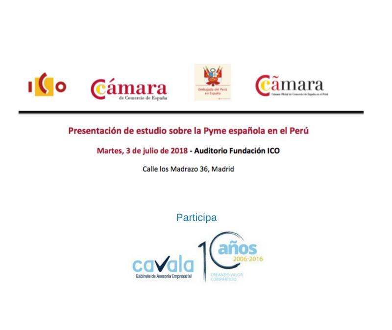 Estudio sobre la Pyme española en el Perú.