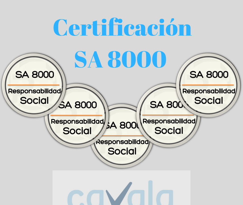 Certificación SA 8000