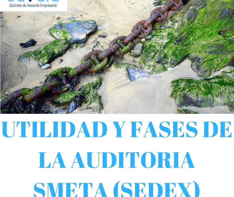 UTILIDAD Y FASES DE LA AUDITORIA SMETA (SEDEX)