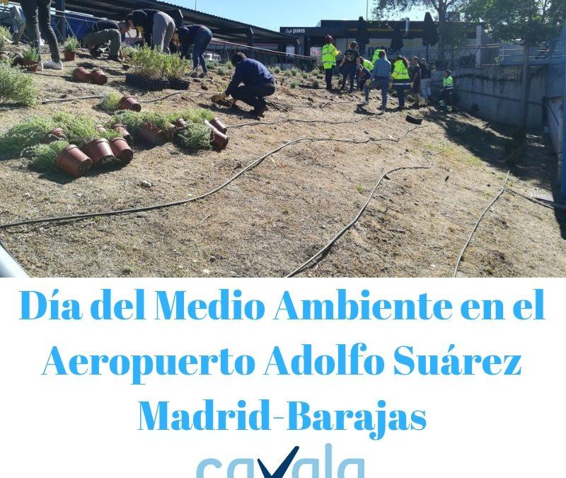 DIA DEL MEDIO AMBIENTE EN EL AEROPUERTO ADOLFO SUÁREZ MADRID-BARAJAS