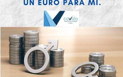 IGUALDAD RETRIBUTIVA: Un euro para tí, un euro para mí.