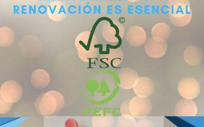 Conseguir una Certificación es importante, mantenerla en el tiempo es esencial. FSC©