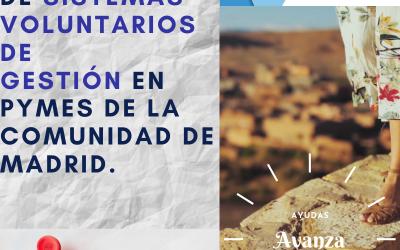AYUDAS PARA LA IMPLANTACIÓN DE SISTEMAS VOLUNTARIOS DE GESTIÓN
